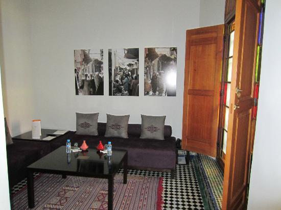 Palais Amani: salon