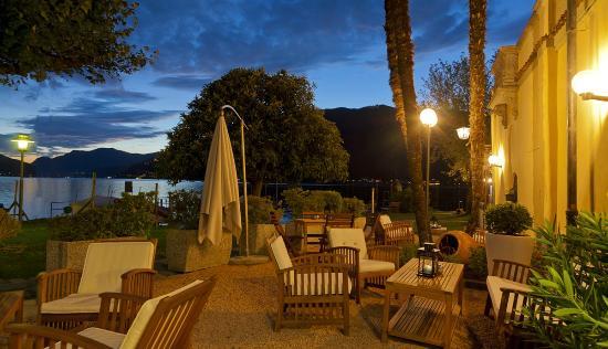Hotel La Palma: Terrazza sul lago