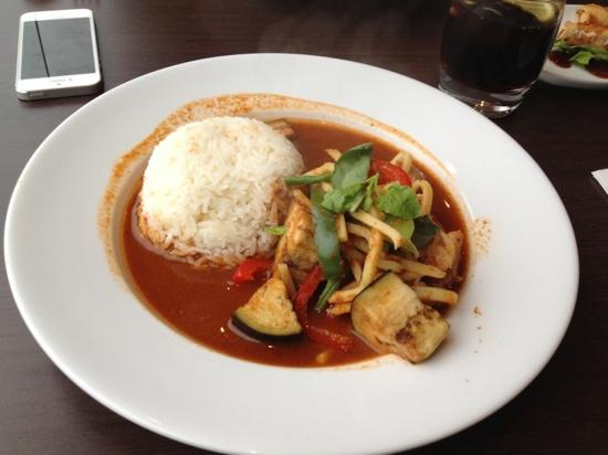 Thai Rice: jungle curry- superb