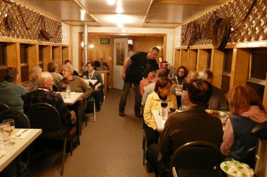 Frontiers North Adventures' Tundra Buggy Lodge: Dining car
