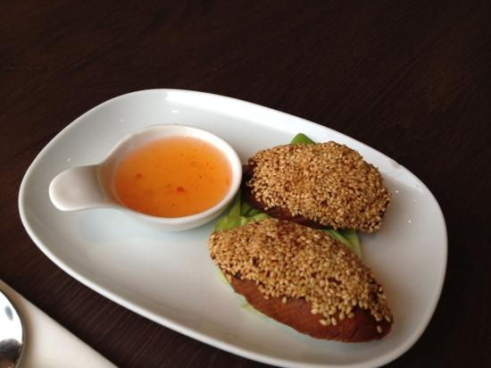 Thai Rice: prawn toast- a cut above