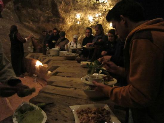 The Rock Camp - Petra: Delicious food