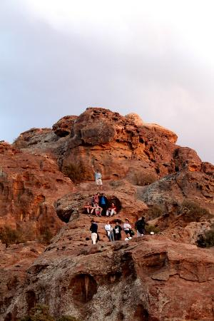 The Rock Camp - Petra: Sunset view-point