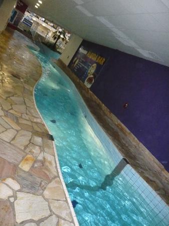 Aquapalace Hotel Prague: Verbindungsfluss