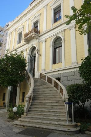 Numismatic Museum : Exterior of museum, the house formerly belonged to archaeologist Schliemann