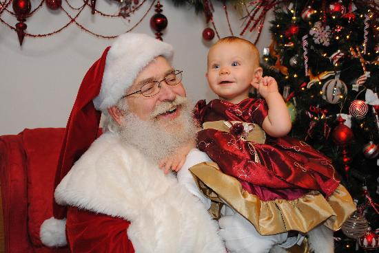 santa claus in visit with santa - Pictures With Santa Claus
