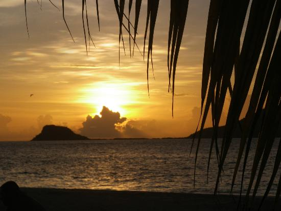 Palm Island Resort & Spa : The incredible sunset