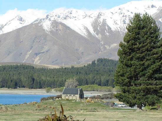 Lake Tekapo Village Motel: View from my patio door