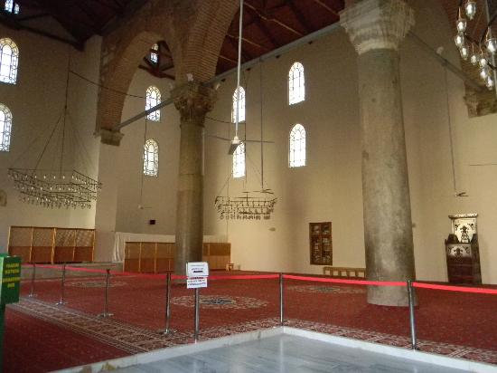 Isa Bey Mosque: Inside