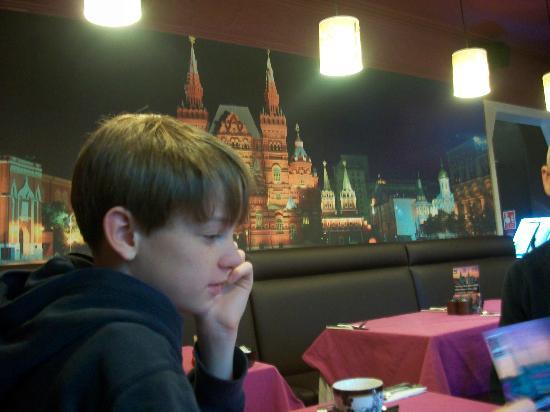 Russian Tea Room: A little piece of Russia!