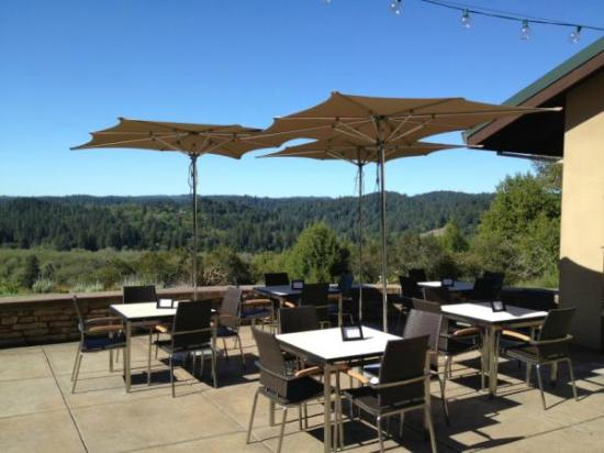 Gary Farrell Winery : Terrace Tasting