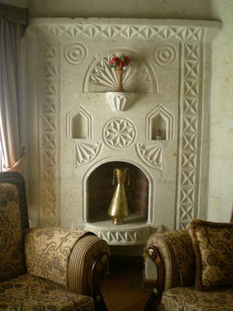 Stone House Cave Hotel: ODAMIZDAN BIR KESIT