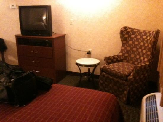 Americas Best Value Inn: Chill out area.