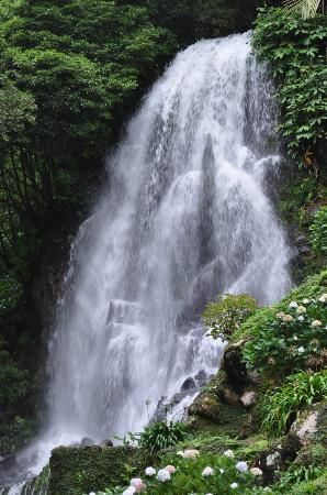 Azorean Tours: Waterfall near Nordeste