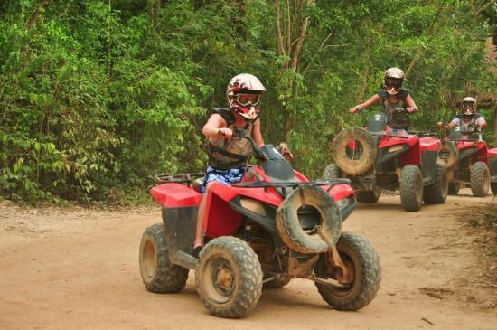 Selvatica Canopy Expedition and Adventure Tour: atv