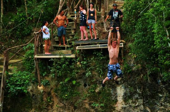 Selvatica: jumping in