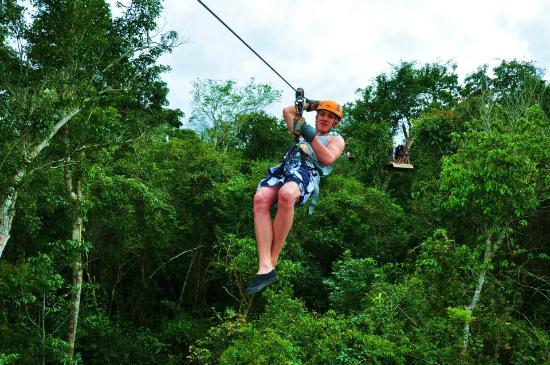 Selvatica Canopy Expedition and Adventure Tour: zip