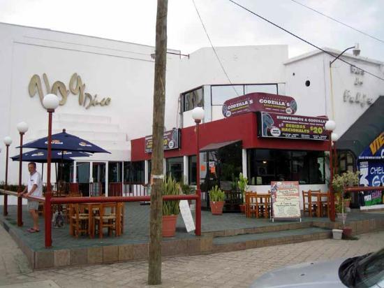 Godzilla's Monster Burgers : Godzillas estilo american Restaurant