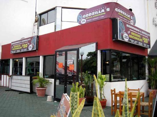Godzilla's Monster Burgers : Godzillas