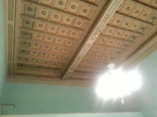 Hotel Villa Stanley: Il soffitto della camera