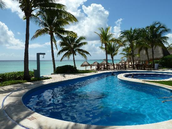 Mahekal Beach Resort: Zwembad Aventura gedeelte