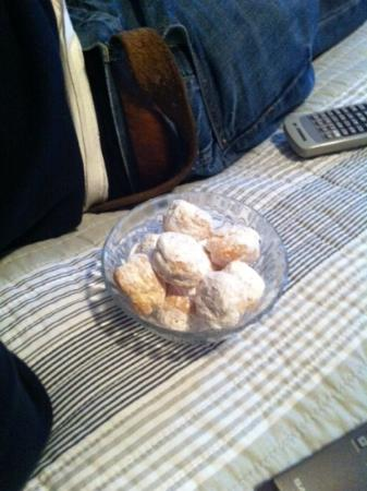 Boogaard's Bed and Breakfast: lovely cream puffs