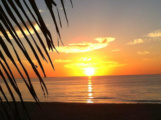 Mahekal Beach Resort: Elke ochtend......