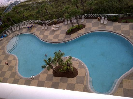 Sterling Resorts - Sterling Beach: Pool from the balcony