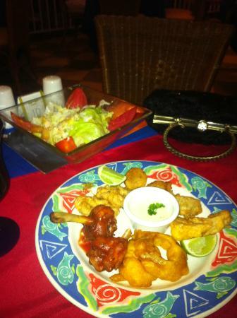 ClubHotel Riu Bambu: steak house appetizers