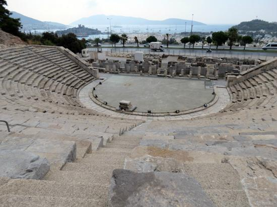 Bodrum Amphitheater: View from the top of the Bodrum Amphitheatre