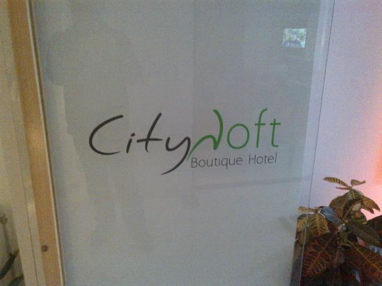 City Loft Boutique Hotel: Entrance