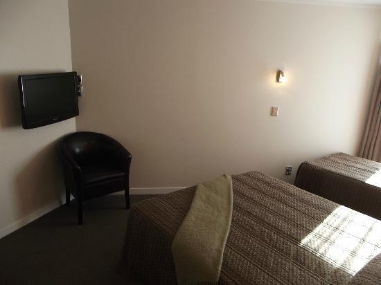 RotoVegas Motel of Rotorua: Flatscreen TV in bedrooms