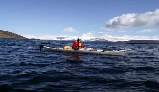 Heydalur Guesthouse: Kayak trip