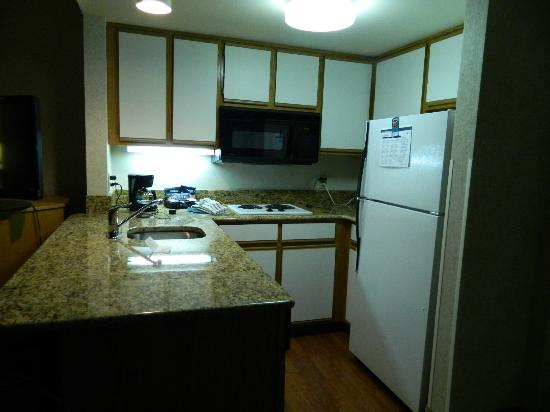 Homewood Suites by Hilton Harrisburg-West Hershey Area: Kitchen had everything!