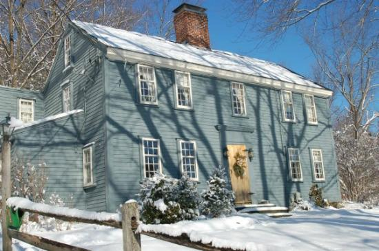 Samuel Fitch House B & B: Winter