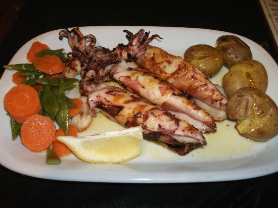 Ju: Delicious grilled squid
