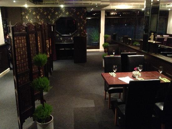 Asian Cook-in: Restaurant area
