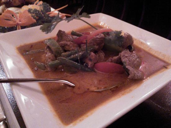 Lemongrass Thai Restaurant: Beef panang