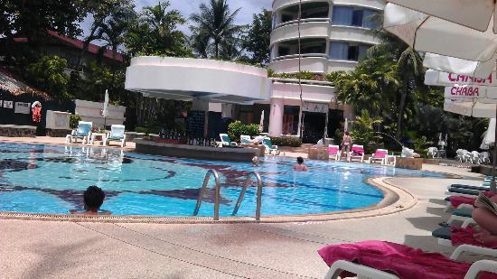 Chaba Samui Resort: Blick auf den Pool
