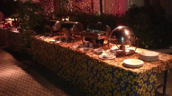Chaba Samui Resort: Thailändisches Buffet