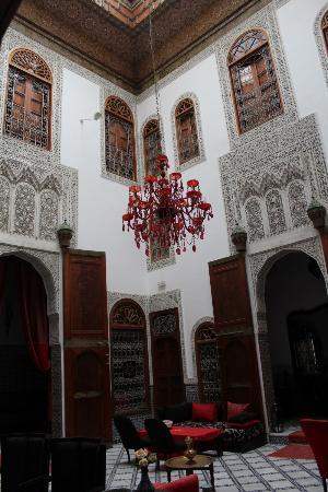 Riad Fez Yamanda: High ceiling