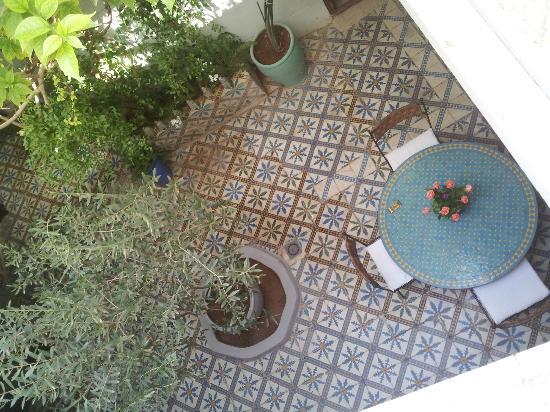 Riad Maroc: breakfast beckons