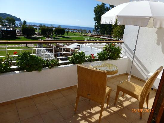 Skiathos Princess Hotel: View from 1st floor junior suite