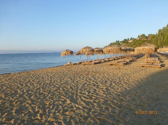 Skiathos Princess Hotel: Beach by Skiathos Princess