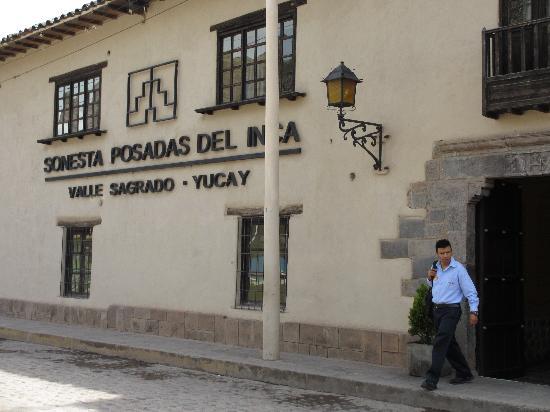 Sonesta Posadas del Inca Sacred Valley Yucay: Hotel entrance