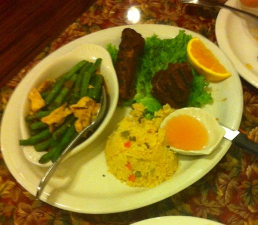 Thai BBQ: BBQ PORK RIBS w/ Thai green beans...yummy!