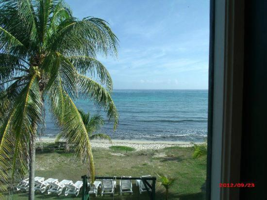 Silver Sands Vacation Villas: View from one of the living room windows.