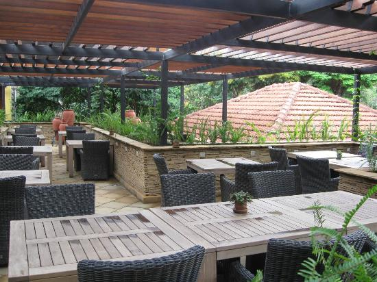 Fairview Hotel: Fine restaurant's terrace