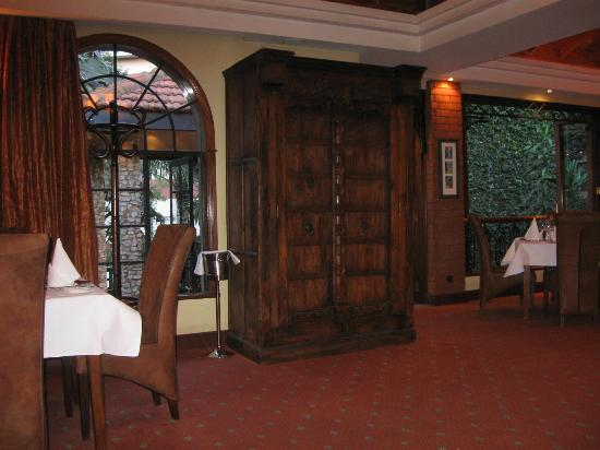 Fairview Hotel: In the fine restaurant upstairs