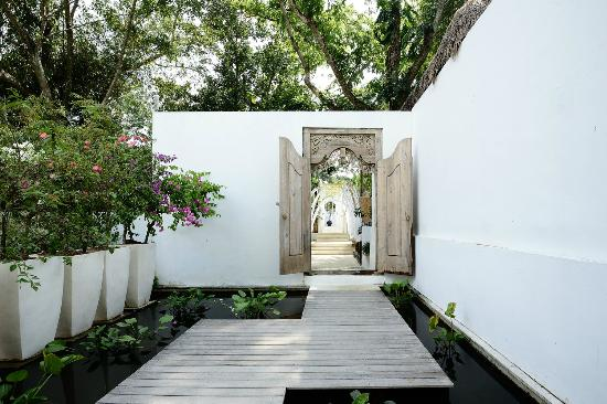 Oazia Spa Villas: Villa Orchid Entrance